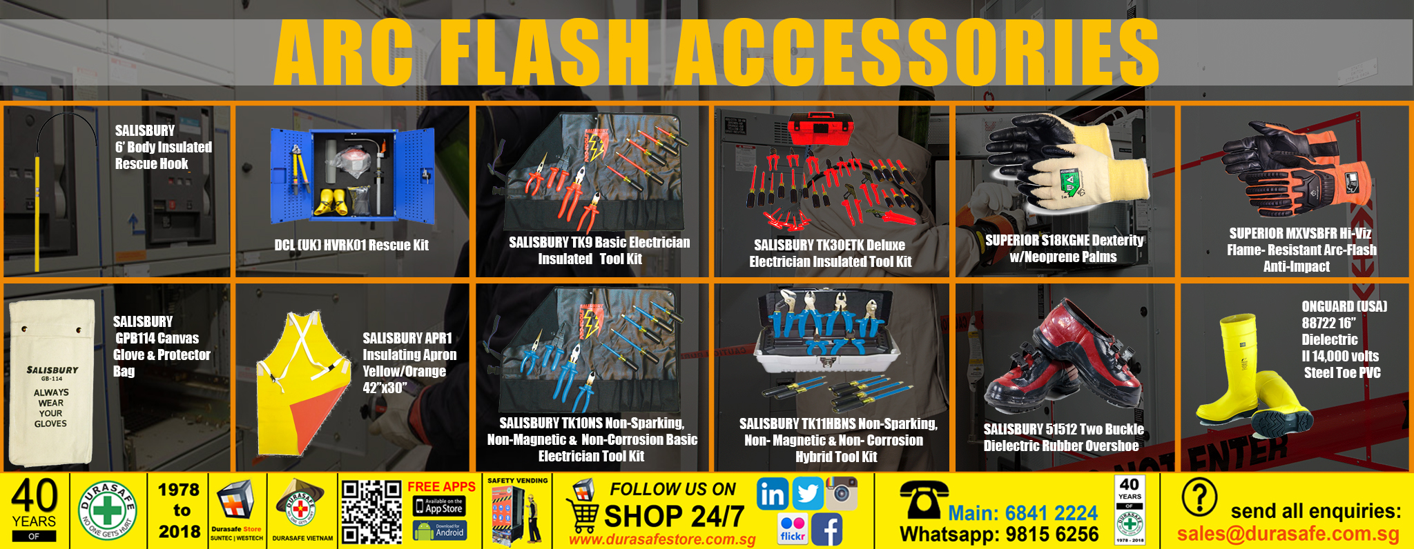 Arc Flash accessories